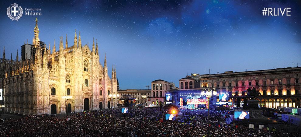 Radio Italia Live Milano 2018  - cantanti