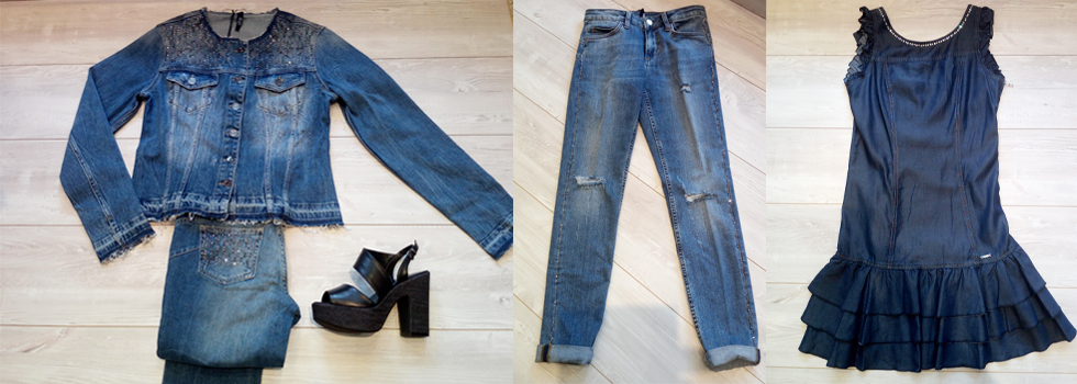 Primavera Estate 2018: total look jeans