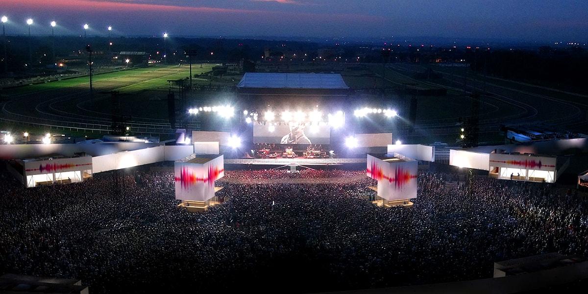 Ippodromo sansiro: concerti estate 2018