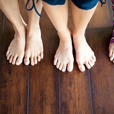 analisi del movimento del piede per prevenire i dolori - promozione del mese di settembre
