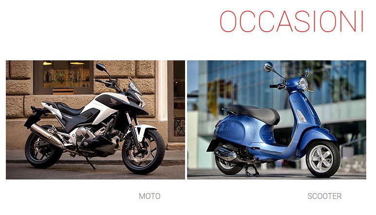 Occasioni moto e scooter a Milano
