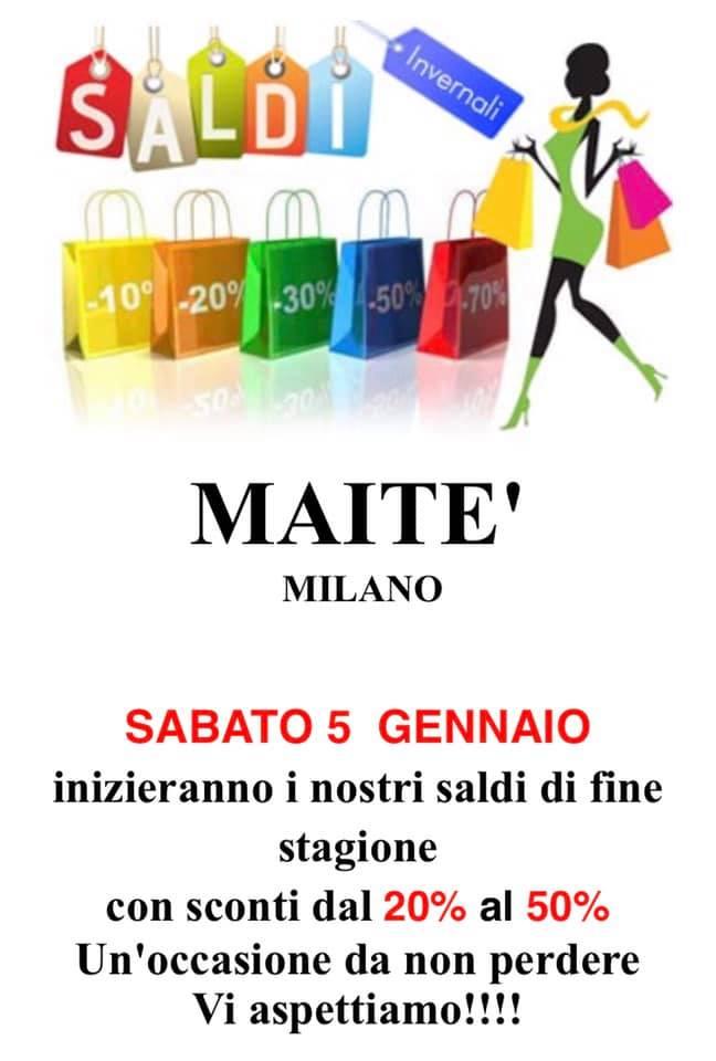 Saldi Maitè Milano