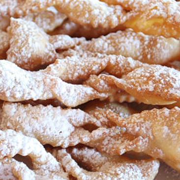 chiacchere gluten free carnevale 2018