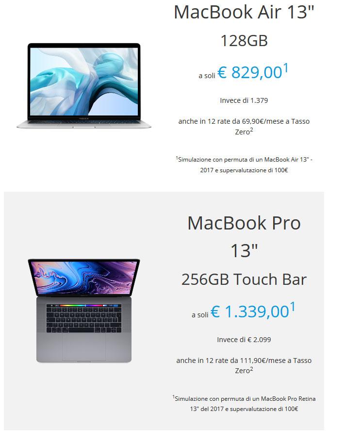 Super rivalutazione usato macbook