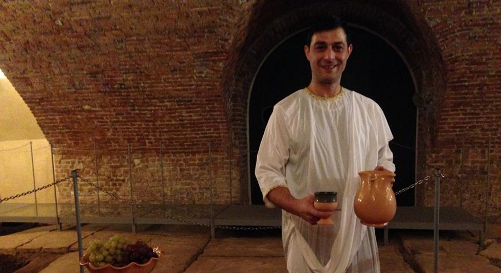 L aperitivo degli antichi romani nel foro for Ricette degli antichi romani