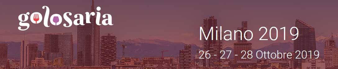 Golosaria 2019 Milano