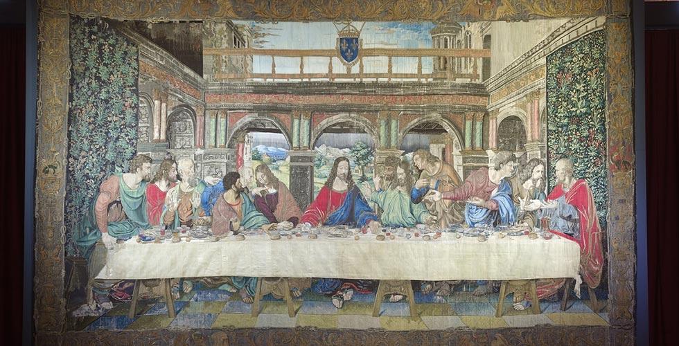 cenacolo vinciano arazzo milano