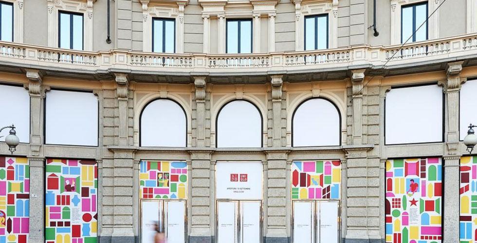 Esterno negozio uniqlo Milano