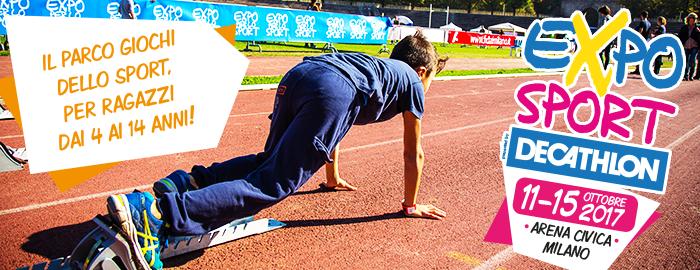 Expo per lo Sport Milano - Arena Civica - Decathlon