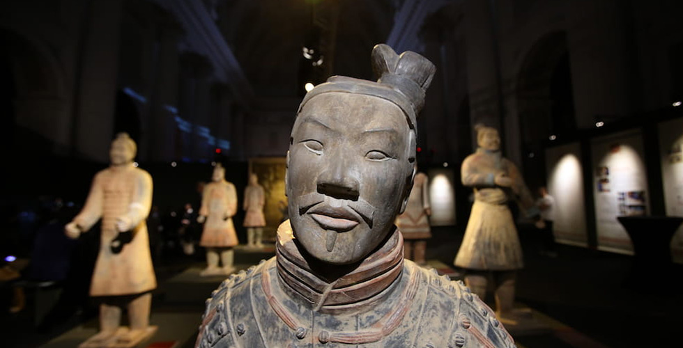 soldato terracotta cinese
