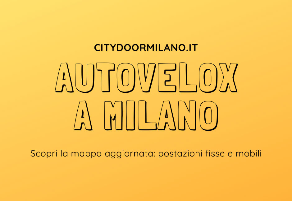 Autovelox Milano