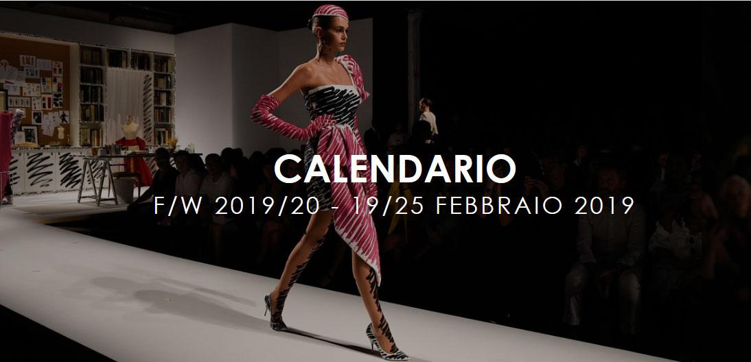 Calendario Sfilate Milano.Appuntamenti Della Milano Fashion Week 2019