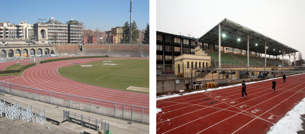 Campi di atletica Milano