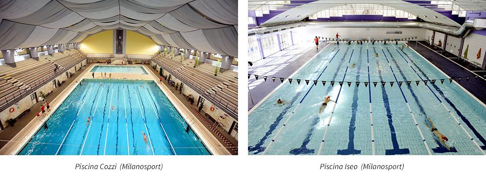 Piscine e corsi di nuoto a Milano