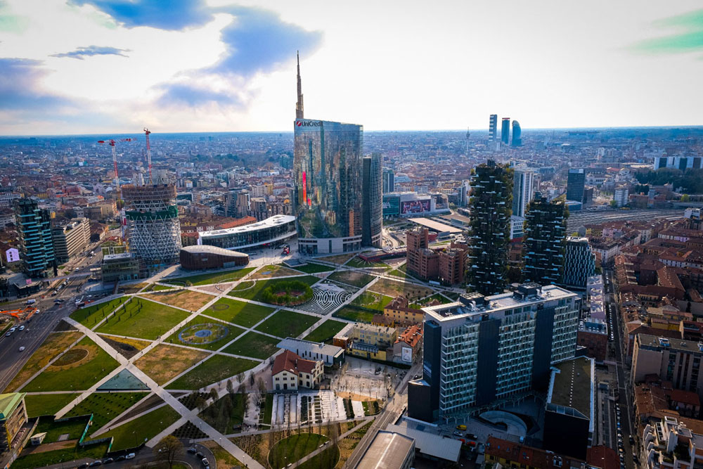Prices houses in Milan