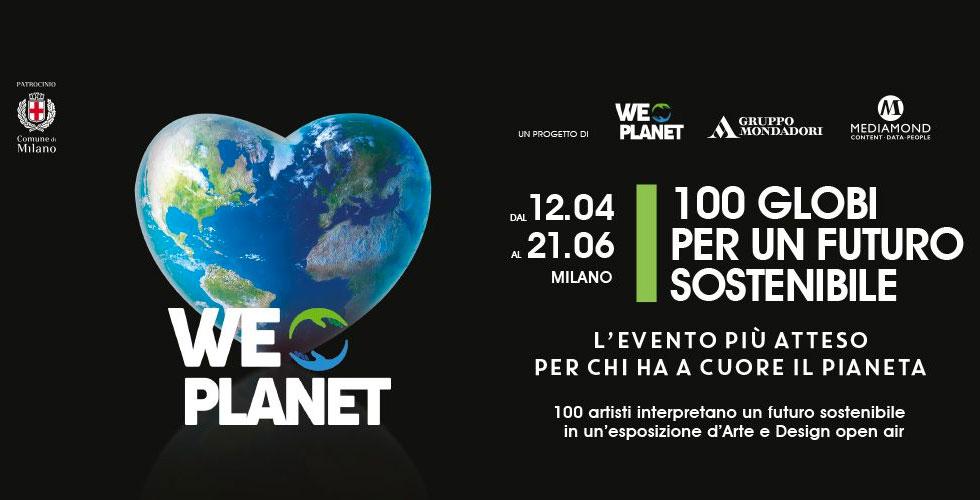 weplanet 100 globi